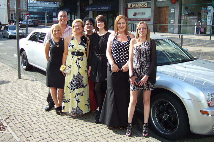 Hen Stag Nights Party Limo Bus